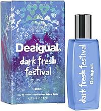 Parfüm, Parfüméria, kozmetikum Desigual Dark Fresh Festival - Eau De Toilatte (mini)