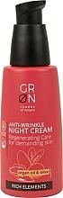 Parfüm, Parfüméria, kozmetikum Éjszakai arckrém - GRN Rich Elements Argan Oil & Olive Night Cream
