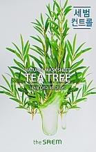 Parfüm, Parfüméria, kozmetikum Szövetmaszk teafa kivonattal - The Saem Natural Tea Tree Mask Sheet