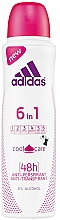 Parfüm, Parfüméria, kozmetikum Dezodor - Adidas Anti-Perspirant 6 in 1 Cool&Care 48h