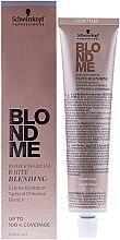 Parfüm, Parfüméria, kozmetikum Szőkítő krém ősz hajszálakra - Schwarzkopf Professional BlondMe White Blending
