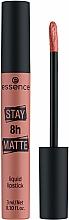 Parfüm, Parfüméria, kozmetikum Folyékony ajakrúzs - Essence Stay 8H Matte Liquid Lipstick