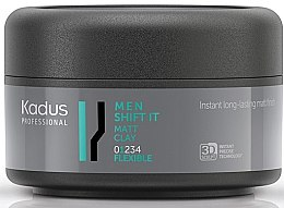 Parfüm, Parfüméria, kozmetikum Matt hajformázó agyag könnyű tartású - Kadus Professional Men Shift It Matt Clay