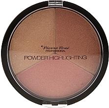 Parfüm, Parfüméria, kozmetikum Highlighter paletta - Pierre Rene Highlighting Powder Palette