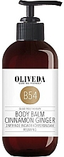 """Parfüm, Parfüméria, kozmetikum Testbalzsam """"Fahéj és gyömbér"""" - Oliveda B54 Body Balm Cinnamon Ginger"""