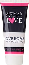 Parfüm, Parfüméria, kozmetikum Tusfürdő és intim mosakodó gél - Sezmar Collection Love Aphrodisiac Shower Gel Love Bomb
