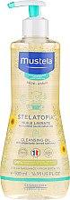 Parfüm, Parfüméria, kozmetikum Tisztító szappan - Mustela Sunflower Cleansing Oil