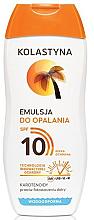 Parfüm, Parfüméria, kozmetikum Napvédő emulzió SPF10 - Kolastyna