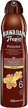 Parfüm, Parfüméria, kozmetikum Száraz olaj napozáshoz - Hawaiian Tropic Protective Dry Oil Continuous Spray Aragan Oil SPF 6