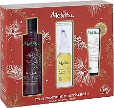 Parfüm, Parfüméria, kozmetikum Szett - Melvita Argan Bio Set (sh/gel/250ml + oil/50ml + h/cr/30ml)