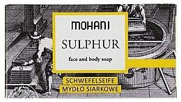 Parfüm, Parfüméria, kozmetikum Szappan testre és arcra - Mohani Sulphur Face and Body Soap