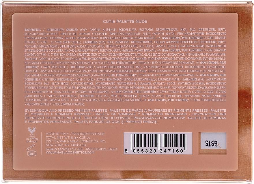 Side By Side Nude Palette - Palette di ombretti di NABLA ≡