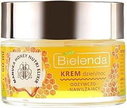 Tápláló hidratáló arckrém - Bielenda Manuka Honey Nutri Elixir Day/Night Cream — fotó N2