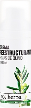Parfüm, Parfüméria, kozmetikum Hidratáló nappali arckrém - Tot Herba Crema Restructuring Cream of Olive Leaves
