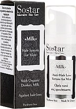 Parfüm, Parfüméria, kozmetikum Hajszérum férfiaknak - Sostar Donkey Milk Men Anti-Hair Loss Serum