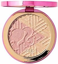 Parfüm, Parfüméria, kozmetikum Highlighter - Pur X Barbie Confident Glow Signature Illuminating Highlighter