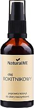 Parfüm, Parfüméria, kozmetikum Homoktövis olaj, adagolóval - NaturalME