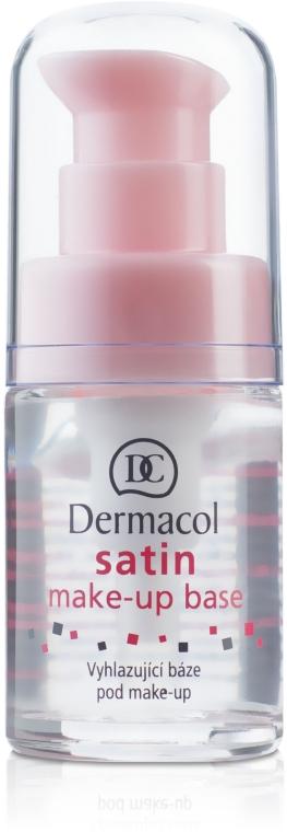 Feszesítő és mattító alap bázis - Dermacol Satin Base Make-Up