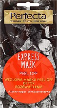 Parfüm, Parfüméria, kozmetikum Lehúzható arcmaszk aktív szénnel - Perfecta Express Mask Peel-Off Detox