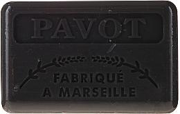 "Parfüm, Parfüméria, kozmetikum Marseille szappan ""Mák"" - Foufour Savonnette Marseillaise Pavot"