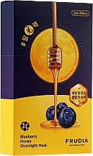 Parfüm, Parfüméria, kozmetikum Tápláló éjszakai maszk áfonya és méz kivonattal - Frudia Blueberry Honey Overnight Mask