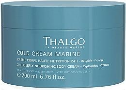 Parfüm, Parfüméria, kozmetikum Regeneráló telített testkrém - Thalgo Cold Cream Marine Deeply Nourishing Body Cream