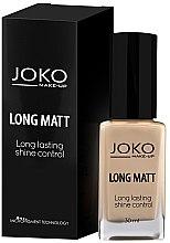 Parfüm, Parfüméria, kozmetikum Alapozó krém - Joko Long Matt