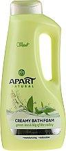"Parfüm, Parfüméria, kozmetikum Fürdőhab ""Zöld tea és gyöngyvirág"" - Apart Natural Body Care Bath Foam"