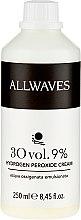 Parfüm, Parfüméria, kozmetikum Krém oxidáns - Allwaves Cream Hydrogen Peroxide 9%