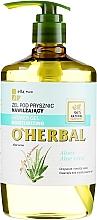Parfüm, Parfüméria, kozmetikum Hidratáló Aloe Vera tusfürdő - O'Herbal Moisturizing Shower Gel