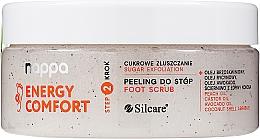 Parfüm, Parfüméria, kozmetikum Cukor alapú peeling lábra - Silcare Nappa Natural Sugar Foot Scrub