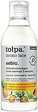 Parfüm, Parfüméria, kozmetikum Mikro hámlasztó arctonik esszencia - Tolpa Dermo Face Essence-Tonic