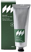 Parfüm, Parfüméria, kozmetikum Borotválkozó krém aloe vera kivonattal - Monolit Skincare For Men Shave Cream With Aloe Vera Extract