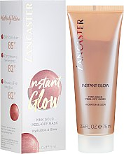 Parfüm, Parfüméria, kozmetikum Hidratáló arcmaszk - Lancaster Instant Glow Peel-Off Pink Gold Mask