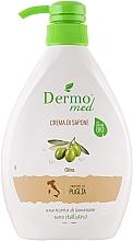"Parfüm, Parfüméria, kozmetikum Krém-szappan ""Olíva"" - Dermomed Oliva Cream Soap"