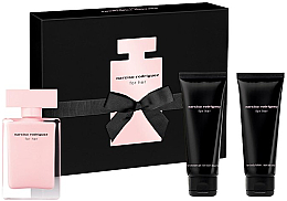 Parfüm, Parfüméria, kozmetikum Narciso Rodriguez For Her - Szett (edt/50ml + b/lot/75ml + sh/gel/75ml)