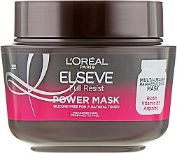 Parfüm, Parfüméria, kozmetikum Erősítő maszk gyenge hajra - L'Oreal Paris Elseve Full Resist Power Mask