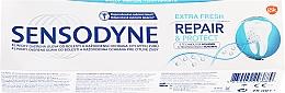 """Parfüm, Parfüméria, kozmetikum Fogkrém """"Helyreállítás és védelem"""" - Sensodyne Repair&Protect Extra Fresh"""