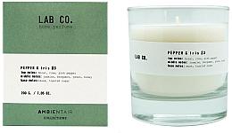 Parfüm, Parfüméria, kozmetikum Illatosított gyertya - Ambientair Lab Co. Pepper & Iris