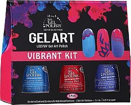 Parfüm, Parfüméria, kozmetikum Szett - IBD Gel Art Vibrant Kit (nail/lacquer/7,4mlx3)