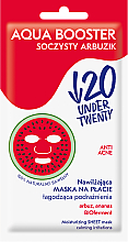 Parfüm, Parfüméria, kozmetikum Hidratáló arcmaszk - Under Twenty Anti Acne Aqua Booster Juicy Watermelon Face Mask