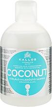 Parfüm, Parfüméria, kozmetikum Tápláló és erősítő sampon kókusz olajjal - Kallos Cosmetics Coconut Shampoo