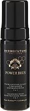 Parfüm, Parfüméria, kozmetikum Fiatalító hab enzim peelinggel 2 az 1-ben - Dermofuture Power Bees Cleansing Foam 2in1