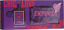 Parfüm, Parfüméria, kozmetikum Chic&Love Empower - Szett (edt/100ml + bag)