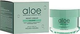 Parfüm, Parfüméria, kozmetikum Arckrém aloe vera kivonattal - Holika Holika Aloe Soothing Essence 80% Moist Cream