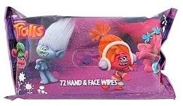 Parfüm, Parfüméria, kozmetikum Nedves törlőkendő, 72 db - Corsair Trolls Hand & Face Wipes