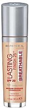 Parfüm, Parfüméria, kozmetikum Sminkalap - Rimmel Lasting Finish 25HR Breathable Foundation SPF 20