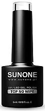 Parfüm, Parfüméria, kozmetikum Top gél-lakk - Sunone UV/LED Gel Polish Top No Wipe