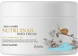 Parfüm, Parfüméria, kozmetikum Csiga tápláló krém - Esfolio Nutri Snail Daily Cream
