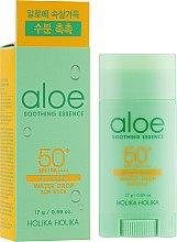 Parfüm, Parfüméria, kozmetikum Napvédő stick - Holika Holika Aloe Soothing Essence Water Drop Sun Stick SPF50+